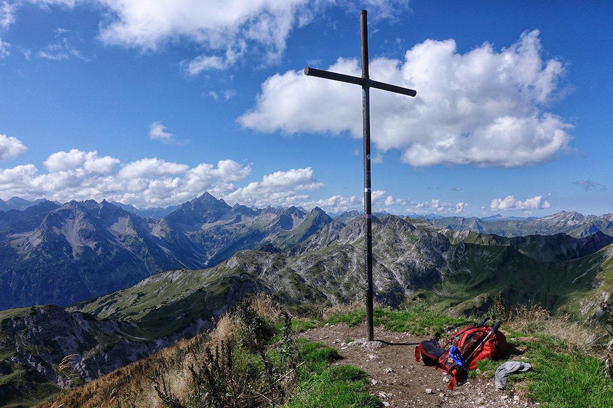 Bergtour auf die Rote Spitze 2130m